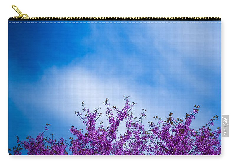 Landscape Photographs Carry-all Pouch featuring the photograph Spring Buds by Toni Hopper