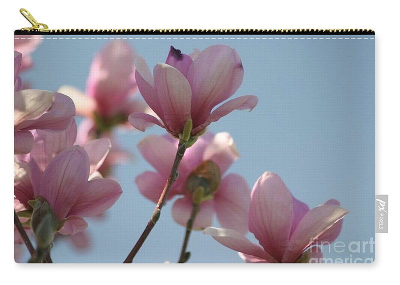 Floral Carry-all Pouch featuring the photograph Spring Has Sprung by Living Color Photography Lorraine Lynch