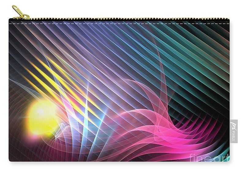 Apophysis Carry-all Pouch featuring the digital art Spring by Kim Sy Ok
