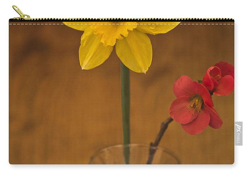 Spring Flowers Carry-all Pouch featuring the photograph Spring On Display by Kim Henderson