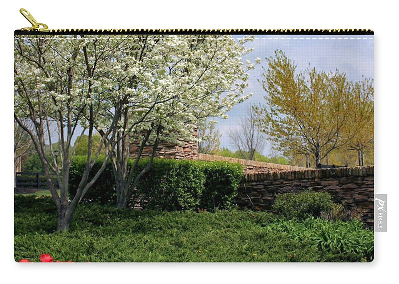 Spring Carry-all Pouch featuring the photograph Sprung Spring by Kristin Elmquist