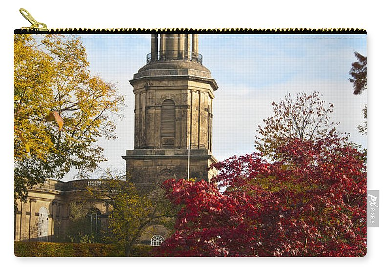 St Chads Church Carry-all Pouch featuring the photograph St Chads Church by Sheila Laurens