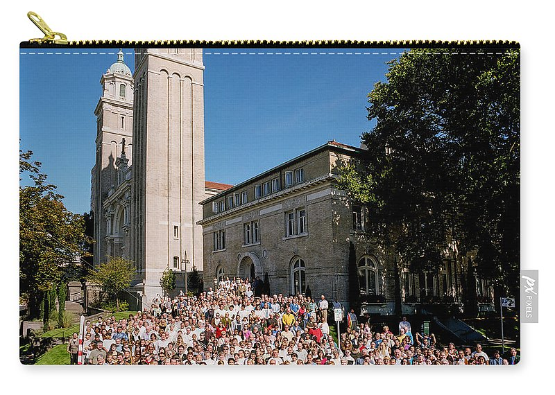 St James Cathedral Carry-all Pouch featuring the photograph St James Cathedral 2007 by Mike Penney