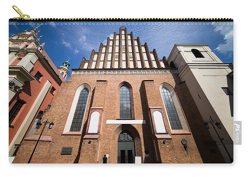 Cathedral Carry-all Pouch featuring the photograph St. John Archcathedral In Warsaw by Artur Bogacki