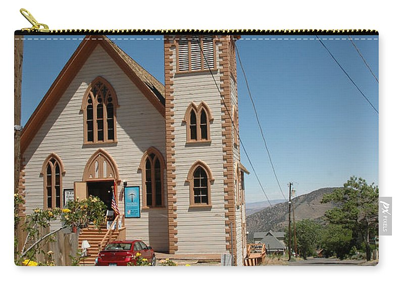 Usa Carry-all Pouch featuring the photograph St Pauls by LeeAnn McLaneGoetz McLaneGoetzStudioLLCcom