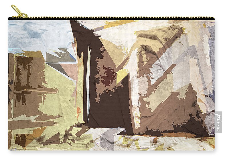 Abstract Carry-all Pouch featuring the photograph Stairway To Heaven Abstract by Mother Nature