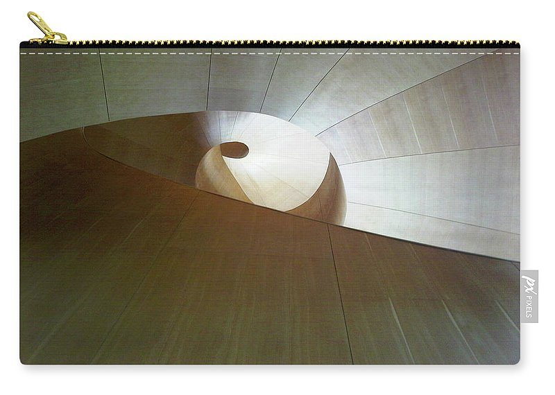 Stairs Carry-all Pouch featuring the photograph Stairway To Nowhere by Marwan George Khoury