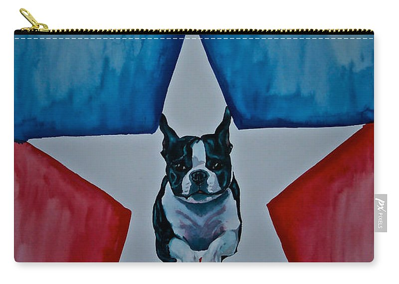 Carry-all Pouch featuring the painting Star Appeal 3 by Susan Herber