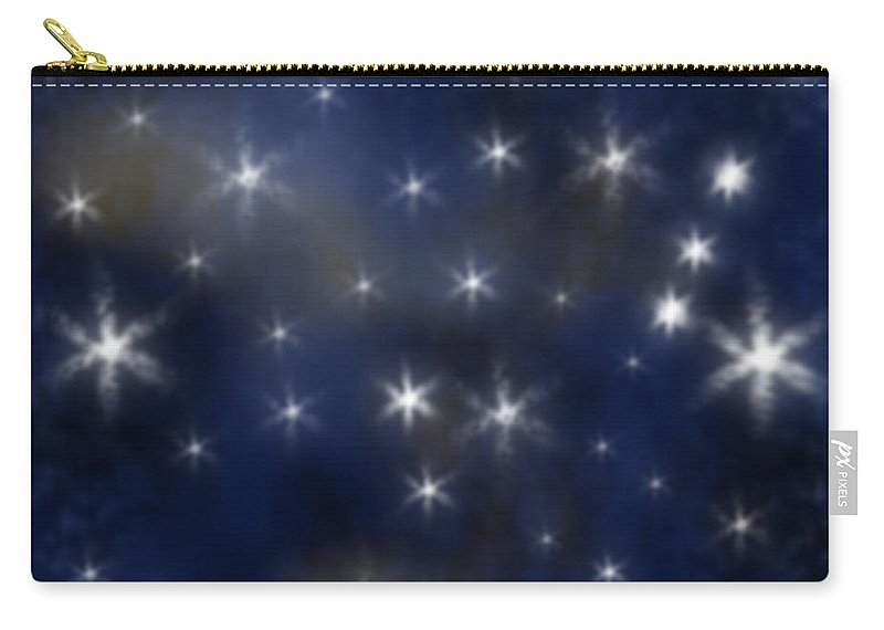 Clay Carry-all Pouch featuring the photograph Starry Night by Clayton Bruster