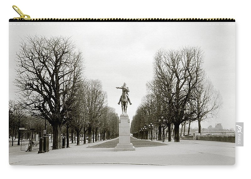 Paris Carry-all Pouch featuring the photograph Nostalgia Of Paris by Shaun Higson
