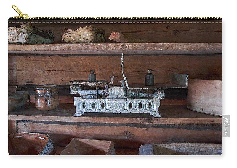 Lehtokukka Carry-all Pouch featuring the photograph Steelyard by Jouko Lehto