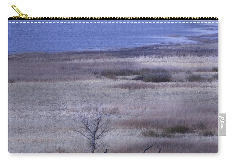 Lake Carry-all Pouch featuring the photograph Stevenson Lake by Rebecca Akporiaye