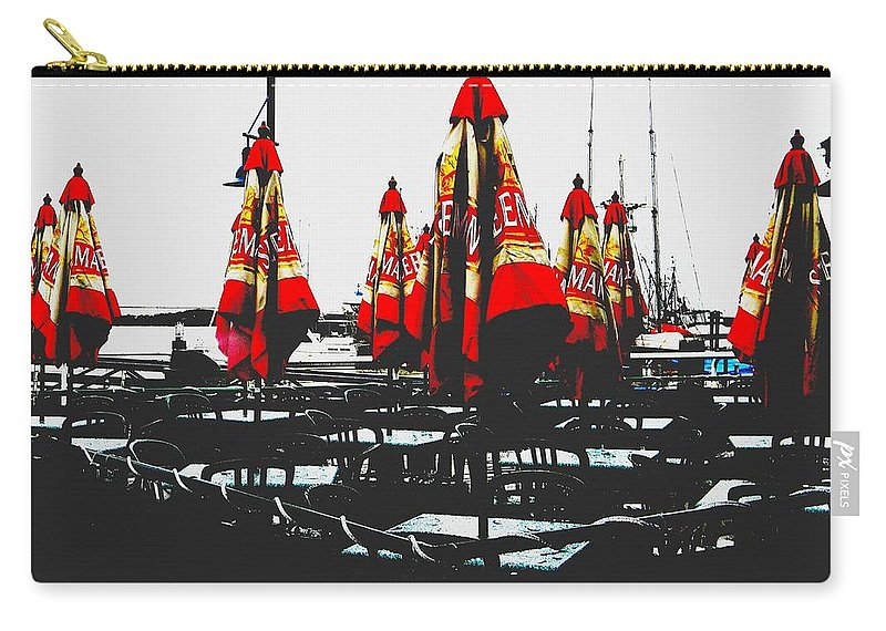 Vancouver Carry-all Pouch featuring the photograph Steveston 1 by Marwan George Khoury