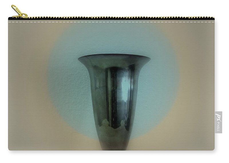 Vase Carry-all Pouch featuring the photograph Still Life - Silver Chalice by Kathleen Grace