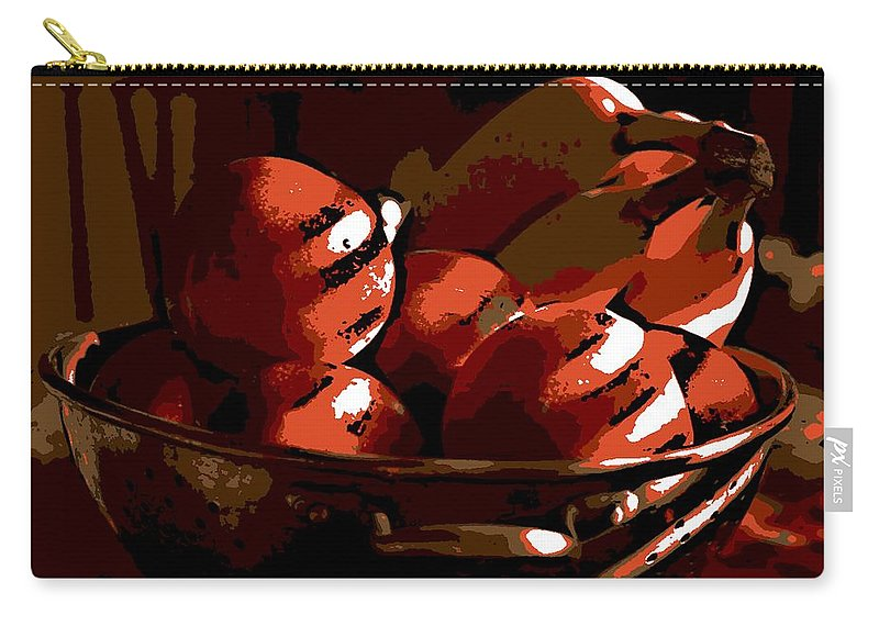 Still Life Carry-all Pouch featuring the photograph Still Life by George Pedro