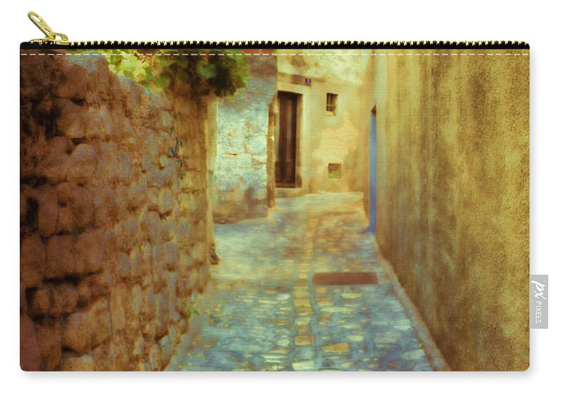 Stone Carry-all Pouch featuring the photograph Stones And Walls by Jasna Buncic