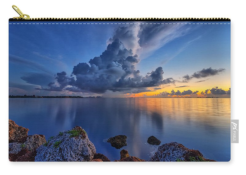 Usa Carry-all Pouch featuring the photograph Storm by Claudia Domenig