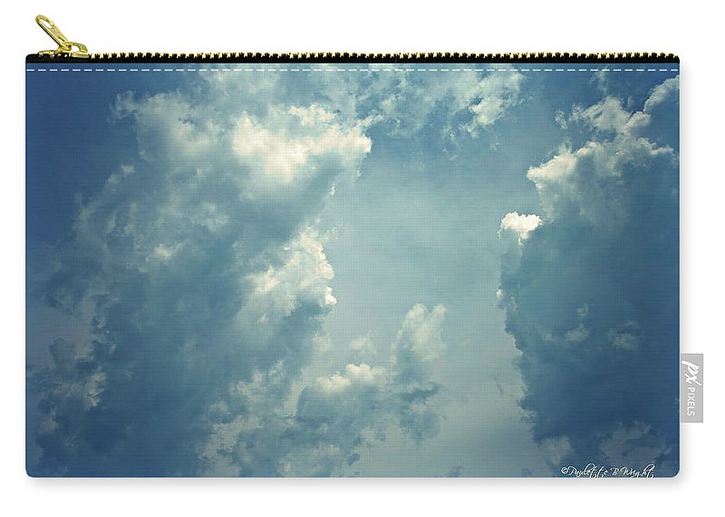 Nature Carry-all Pouch featuring the photograph Storm Clouds - 3 by Paulette B Wright