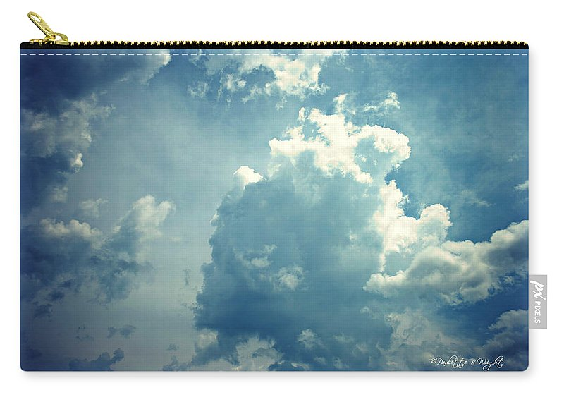 Nature Carry-all Pouch featuring the photograph Storm Clouds - 4 by Paulette B Wright