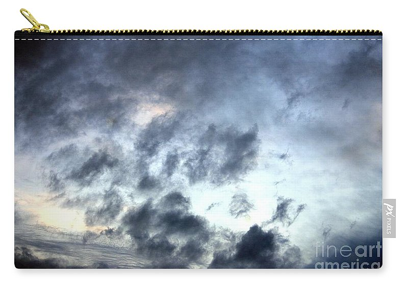 Storm Carry-all Pouch featuring the photograph Storm Clouds At Dawn by Maria Urso