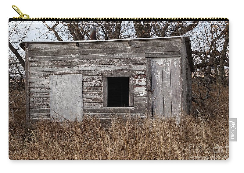 Farm Carry-all Pouch featuring the photograph Storm Shelter by Lori Tordsen