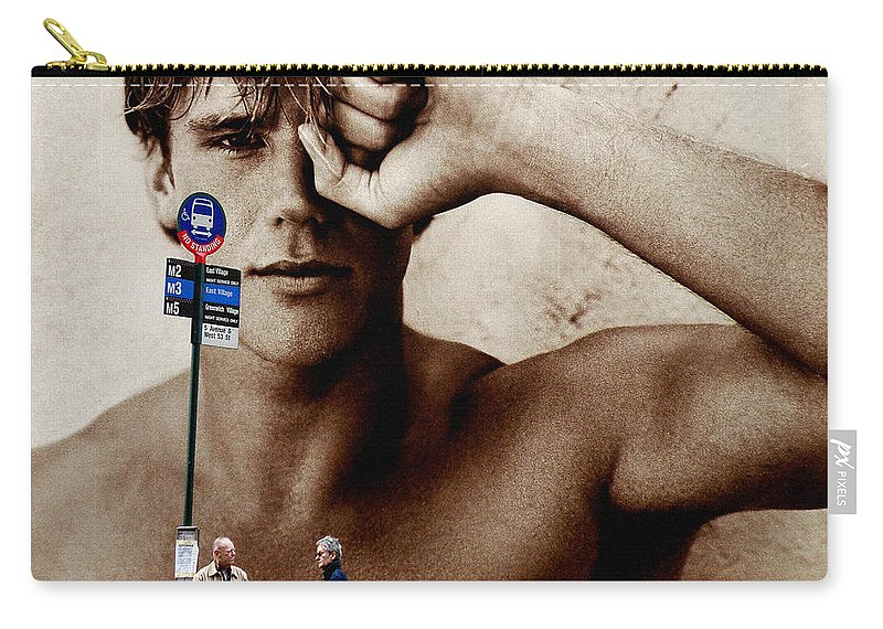 New York Carry-all Pouch featuring the photograph Streets Of New York 10 by Andrew Fare