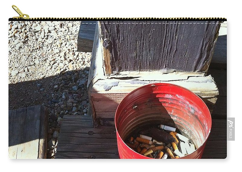 Tombstone Carry-all Pouch featuring the photograph Streets Of Tombstone 12 by Marlene Burns