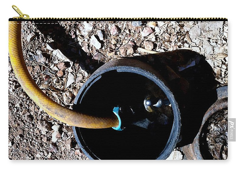 Tombstone Carry-all Pouch featuring the photograph Streets Of Tombstone 8 by Marlene Burns