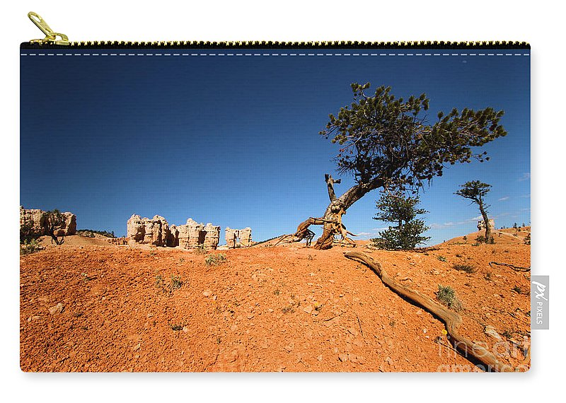 Bryce Canyon National Park Carry-all Pouch featuring the photograph Stretch by Adam Jewell