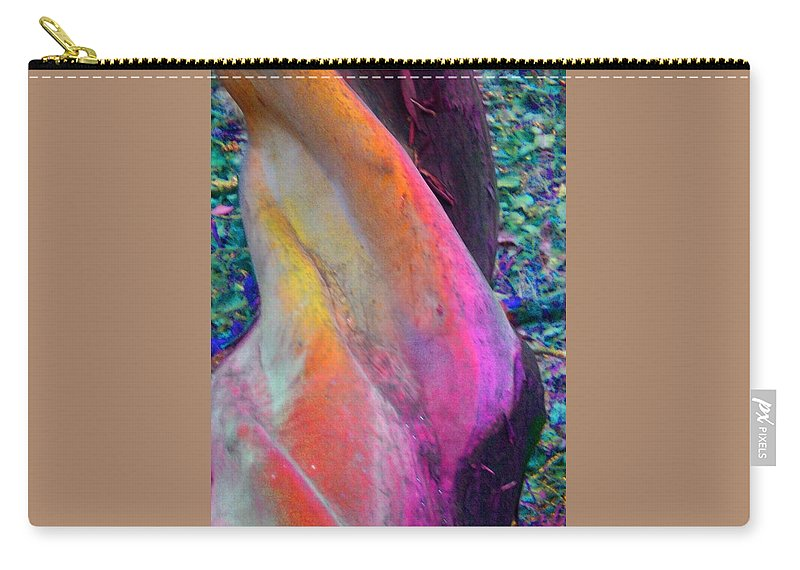Nature Carry-all Pouch featuring the digital art Stretch by Richard Laeton