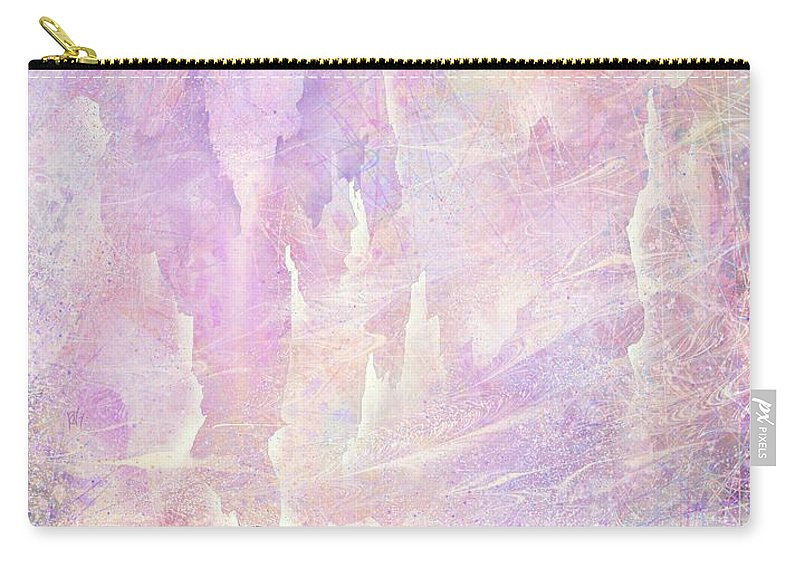 Landscape Carry-all Pouch featuring the digital art Stuck in a moment of time by William Russell Nowicki