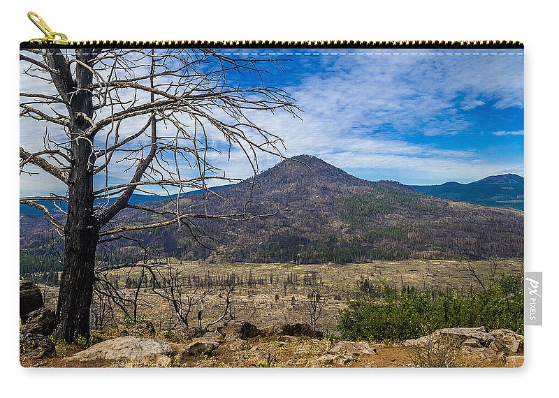 Sugarloaf Peak Carry-all Pouch featuring the photograph Studies On Sugarloaf Peak 1 by Greg Nyquist