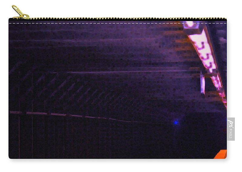 Subway Carry-all Pouch featuring the photograph Subway Silence by Gwyn Newcombe