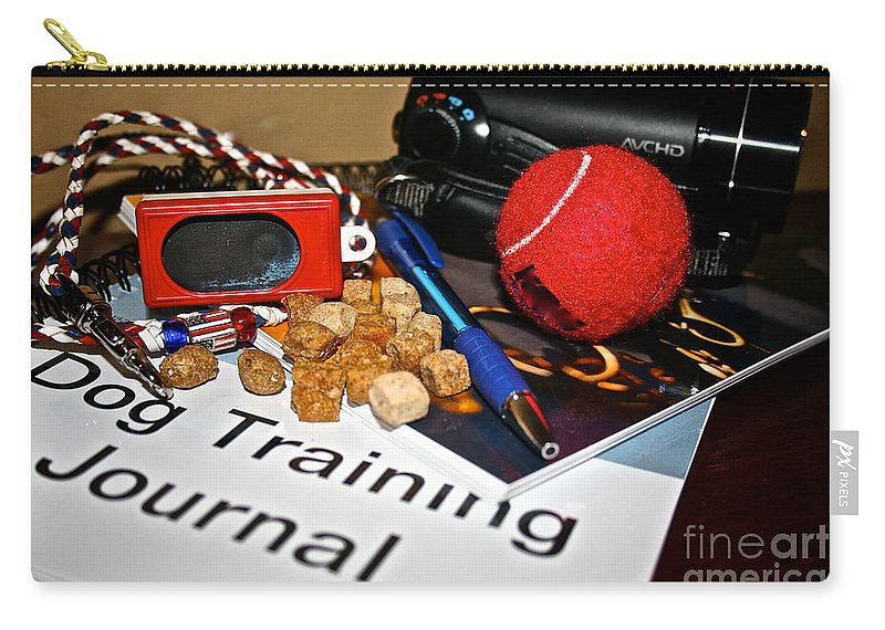Dog Training Equipment Carry-all Pouch featuring the photograph Successful Beginnings by Susan Herber