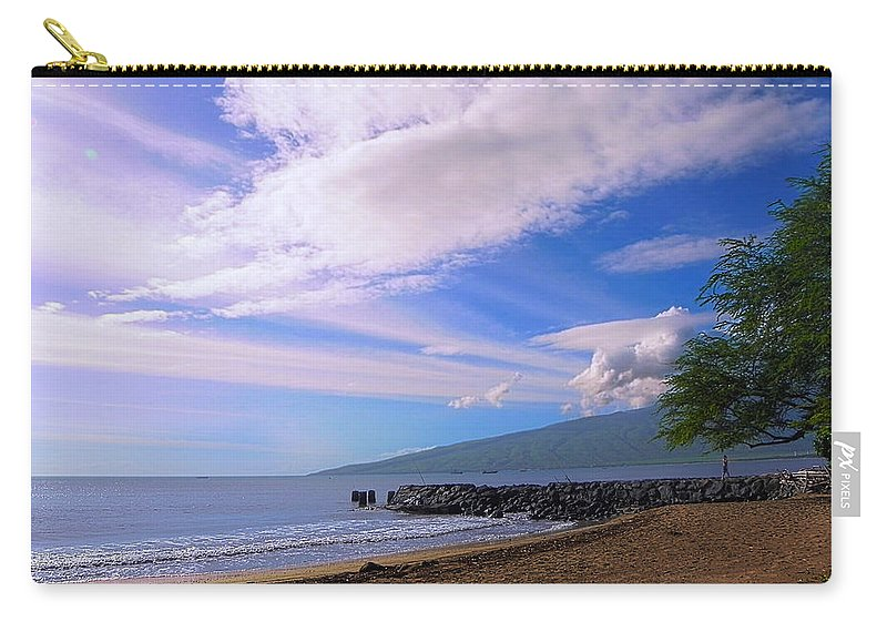 Landscape Carry-all Pouch featuring the photograph Sudas Pier by Jesse Francis