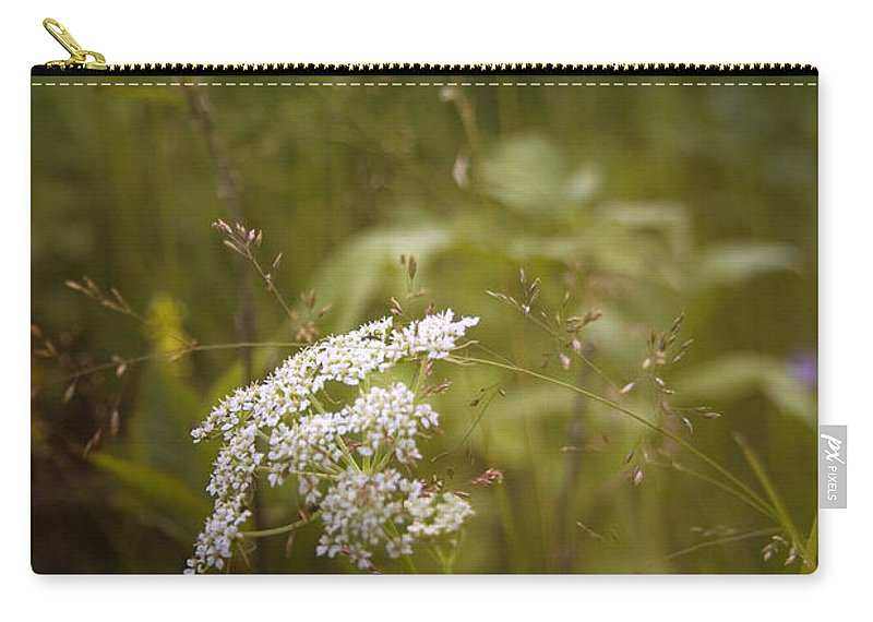Plants Carry-all Pouch featuring the photograph Summer Grasses by Ellen Heaverlo