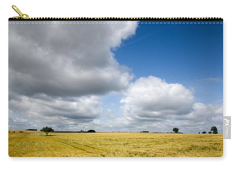 Borg Carry-all Pouch featuring the photograph Summer In Saarland by Ian Middleton