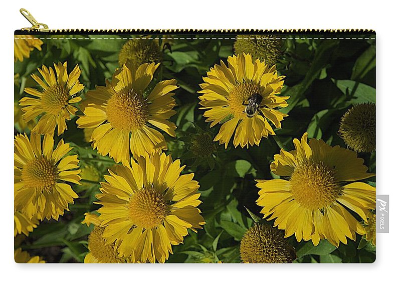 Bumble Bee Carry-all Pouch featuring the photograph Summer by Joseph Yarbrough