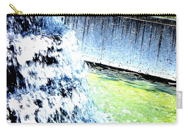 Color Carry-all Pouch featuring the photograph Summer Splash by Shelley Blair