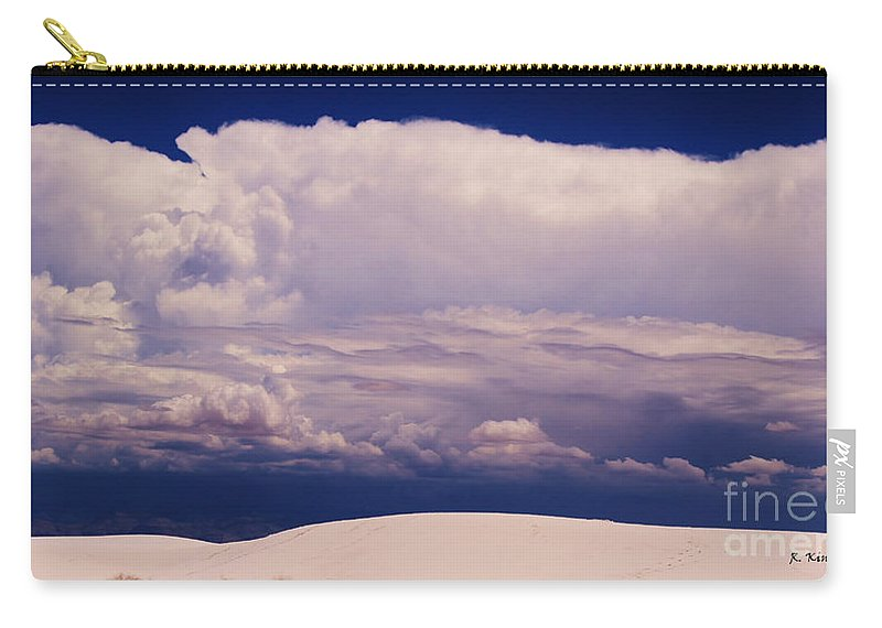Roena King Carry-all Pouch featuring the photograph Summer Storms Over The Mountains 2 by Roena King
