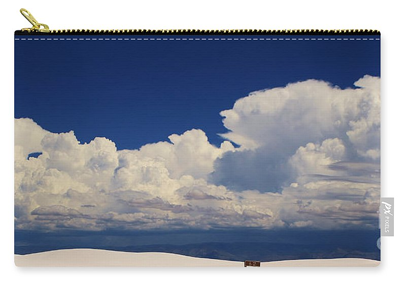 Roena King Carry-all Pouch featuring the photograph Summer Storms Over The Mountains 4 by Roena King