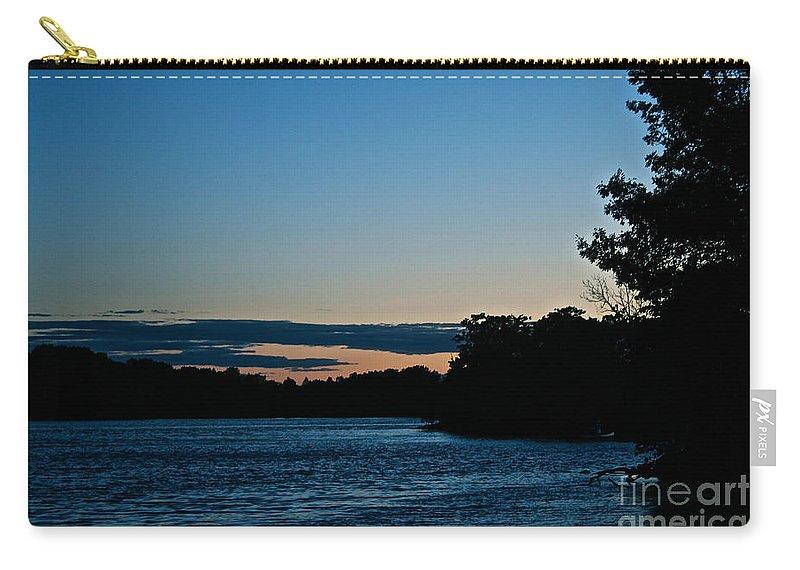 Minnesota Carry-all Pouch featuring the photograph Summer Sundown by Susan Herber