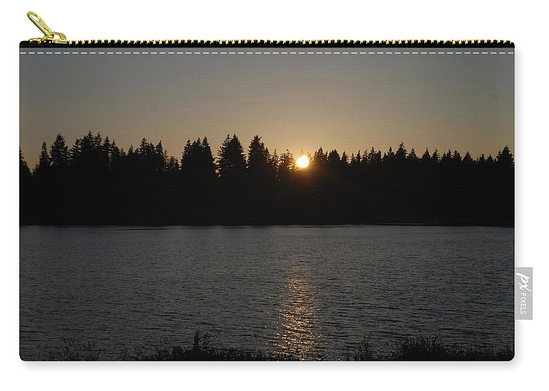 Summer Carry-all Pouch featuring the photograph Summer Sunset by Michael Merry