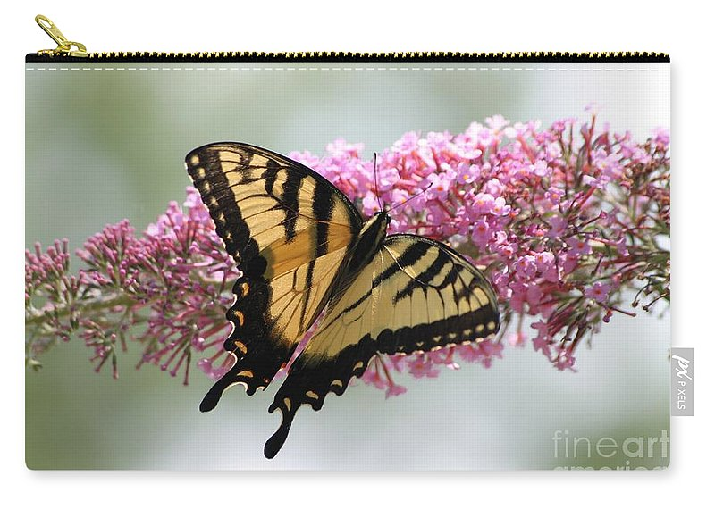 Butterfly Carry-all Pouch featuring the photograph Summer Time Pleasures by Living Color Photography Lorraine Lynch
