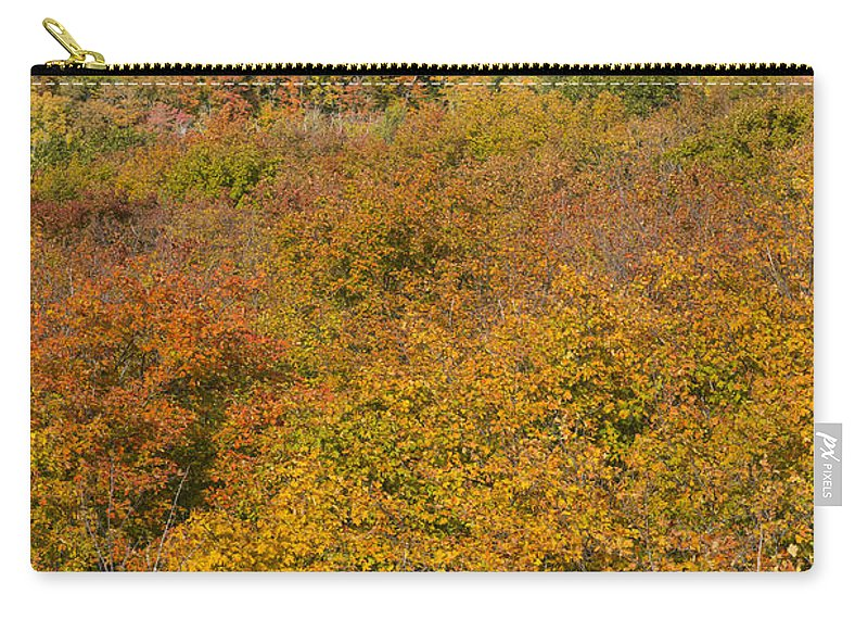 Summit Carry-all Pouch featuring the photograph Summit Peak Autumn 15 by John Brueske