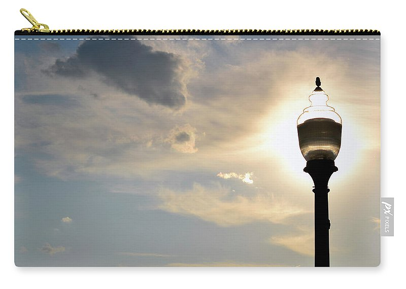 Sun Carry-all Pouch featuring the photograph Sun-light by Zawhaus Photography