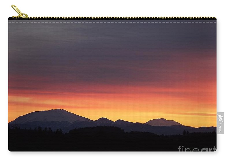 Sunrise 3 Carry-all Pouch featuring the photograph Sunrise 3 by Chalet Roome-Rigdon