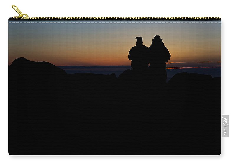 Maine Carry-all Pouch featuring the photograph Sunrise With Me by Rick Berk