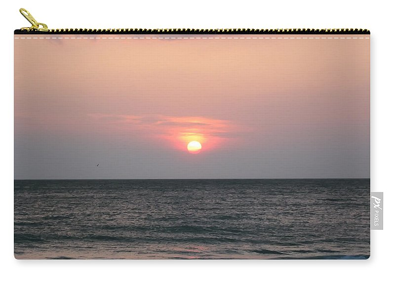 Florida Carry-all Pouch featuring the photograph Sunset - Florida Style by Bill Cannon