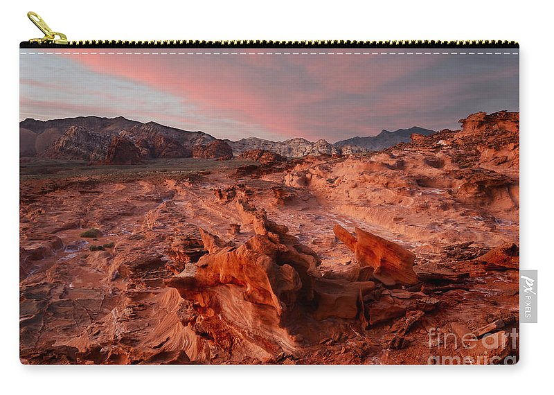 Little Finland Carry-all Pouch featuring the photograph Sunset At Liitle Finland by Bob Christopher